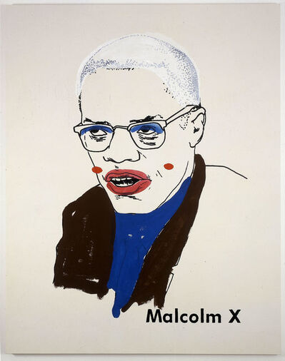 Glenn Ligon, 'Malcolm X #1 (small version #2) ', 2003