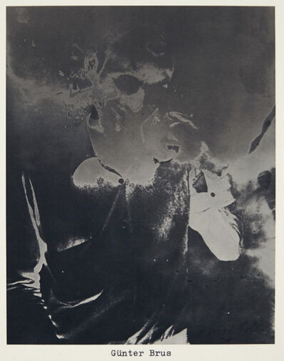Sigmar Polke, 'Günter Brus', 1973