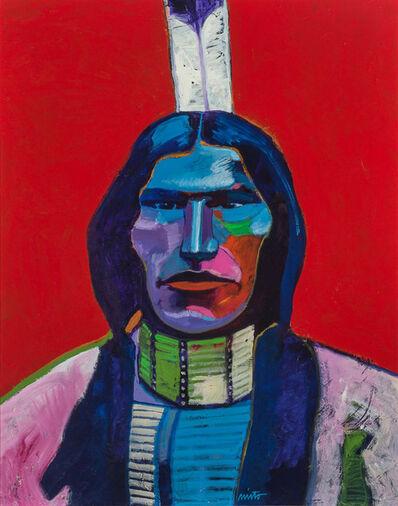 John Nieto, 'Low Dog - Sioux Chief', 1989