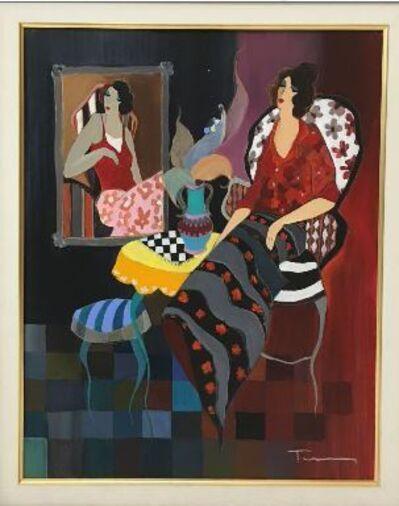 Itzchak Tarkay, 'Silhouette #3', 2005