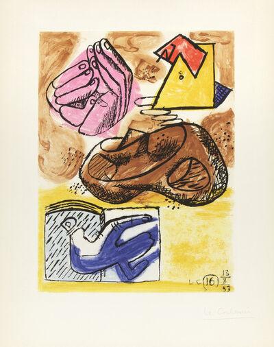 Le Corbusier, 'Unité, Planche 16', 1963