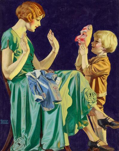 Walter Beach Humphrey, 'Scaring Mother', 1920-1929