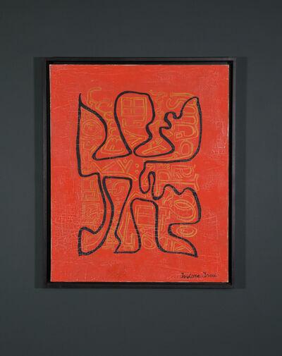 Isidore Isou, 'Arabesque à fantôme (121)', 1961