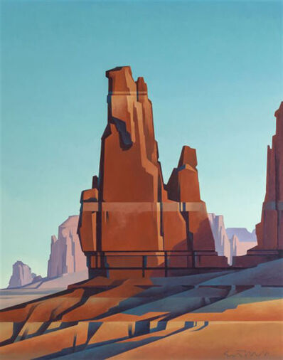 Ed Mell, 'Desert Tower', 1989