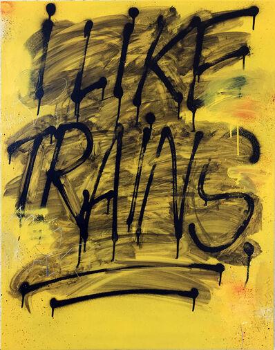 Thierry Furger, 'Trains', 2020