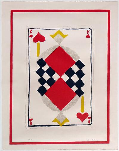 Sonia Delaunay, 'Roi de Coeur', 1964