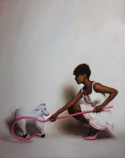 SJ Fuerst, 'Little Bo Peep and her inflatable sheep'