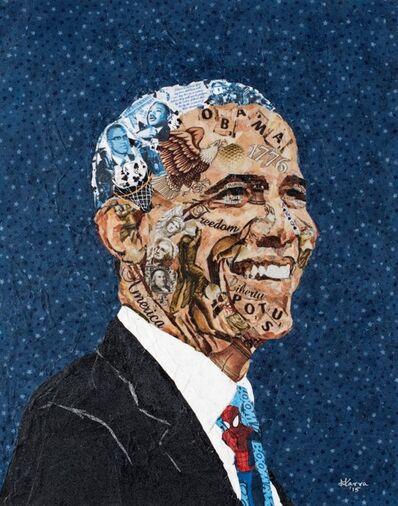 Mihira Karra, 'Obama, The President and the Man', 2014