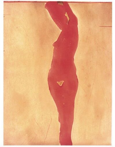 Nathan Joseph Roderick Oliveira, 'Color Plate Nude II (2), 30 /tpc - artist signed / dated 2001', 2001