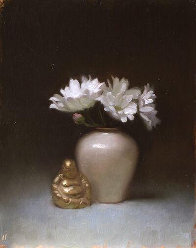 Cornelia Hernes, 'Buddha and Florals ', 2017