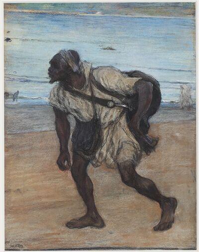 Jacobus van Looy, 'A Water Carrier in Tangier', ca. 1886