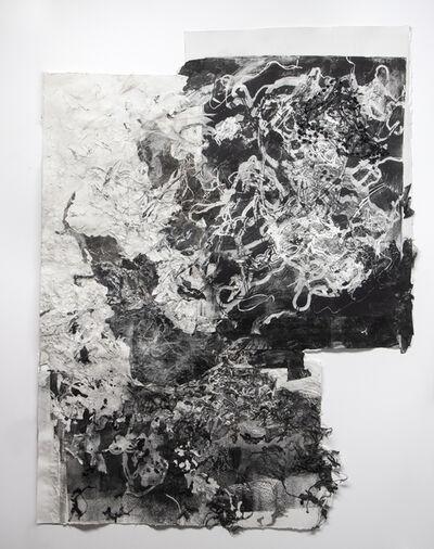 Debra Weisberg, 'Collaged Monoprint 8', 2020