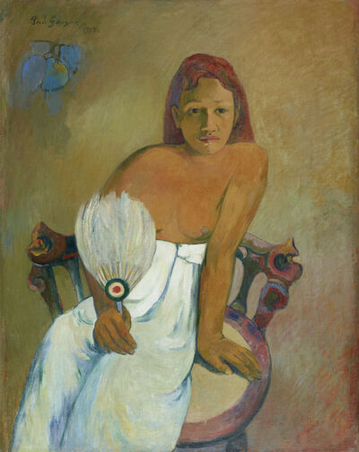 Paul Gauguin, 'Femme à l'éventail (Woman with a Fan)', 1902