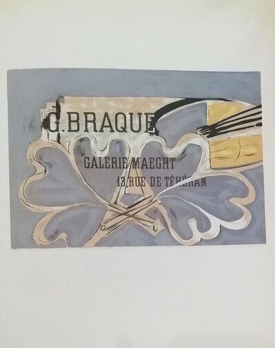 Georges Braque, 'Galerie Maeght (13 Rue)', 1959