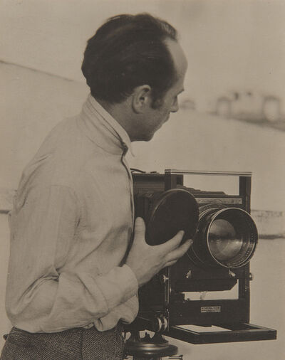 Tina Modotti, 'Edward Weston with Camera', circa 1924