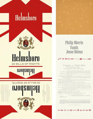 Hans Haacke, 'Helmsboro Country (Unfolded)', 1990
