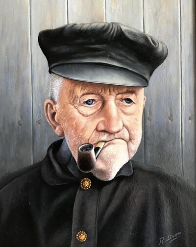Rob van Assen, 'Old dutch fisherman', 2018