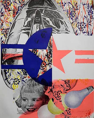 James Rosenquist, 'Castelli Gallery (Hand Signed) ', 1965