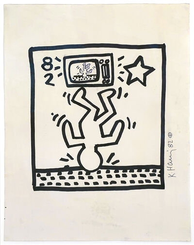 Keith Haring, 'Untitled (82)', 1982