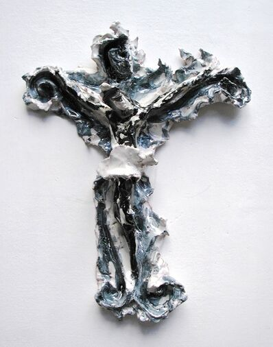 Lucio Fontana, 'Crocifisso barocco', 1950