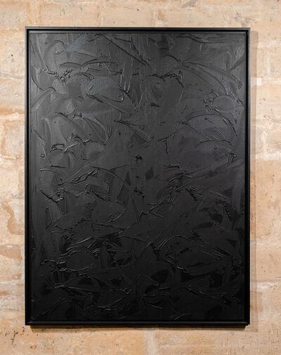 Rafael Sliks, 'Grey black oil', 2019