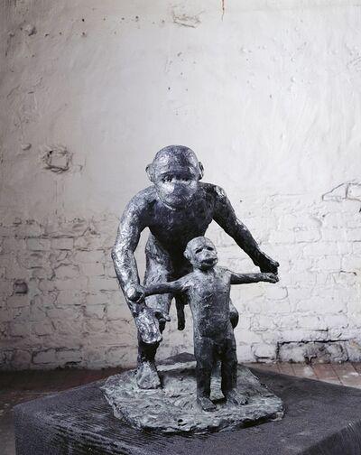 Jörg Immendorff, 'Malerstamm - Christian und Otto', 2002