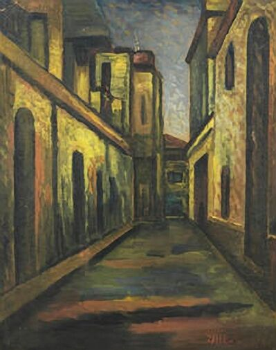 Jamini Roy, 'Untitled (City Street)', ND