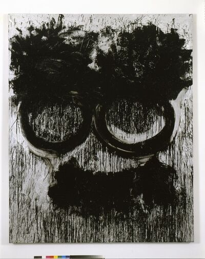 Joyce Pensato, 'Flying Mustache', 2012