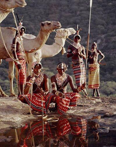 Jimmy Nelson, 'XVII 220 - Lelesas, Louelen, Lewangu, Lepokodou, Loingu, Nyerere - Ndoto Mountain Range - Kenya', 2010