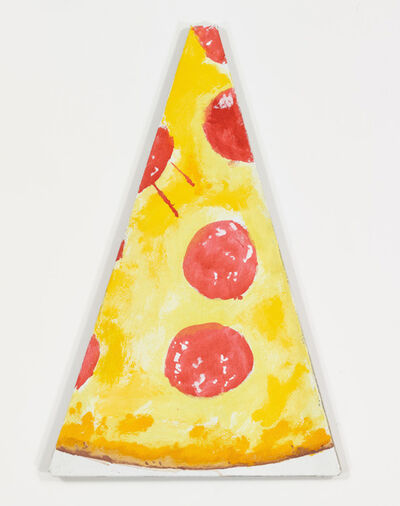 Nate Lowman, 'Peter Paul and Pizza Slice #1', 2012