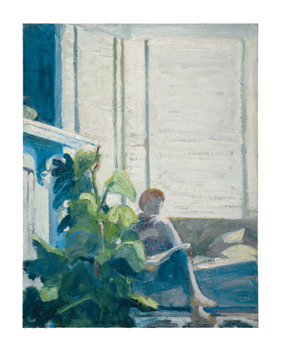 Paul Wonner, 'Figure by Window', 1962