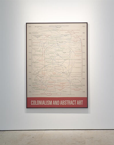 Hank Willis Thomas, 'Colonialism and Abstract Art', 2019
