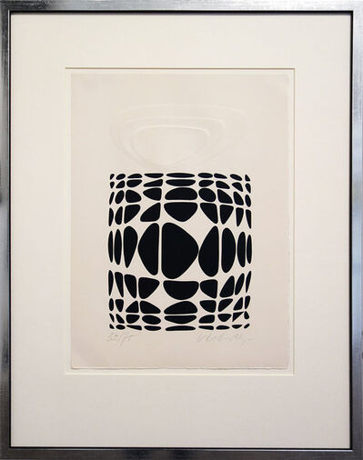 Victor Vasarely, 'Yapoura', 1966