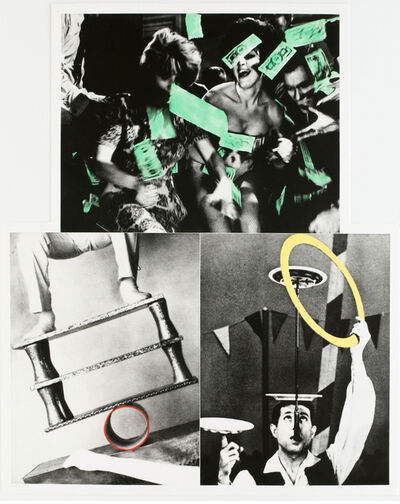 John Baldessari, 'Life's Balance (With Money)', 1989-1990