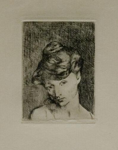 Pablo Picasso, 'Tête de Femme', 1905