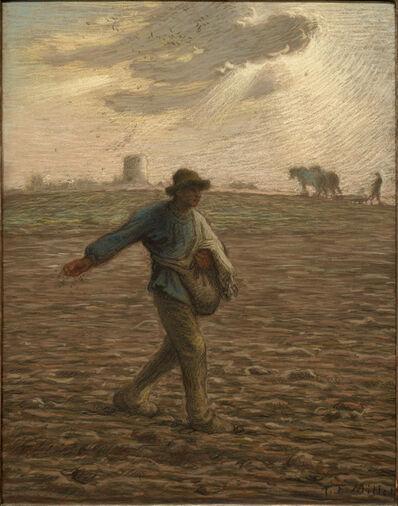 Jean-François Millet, 'The Sower', c. 1865