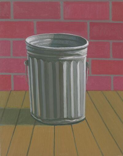 Vonn Cummings Sumner, 'Trashcan (Brick Wall)', 2019