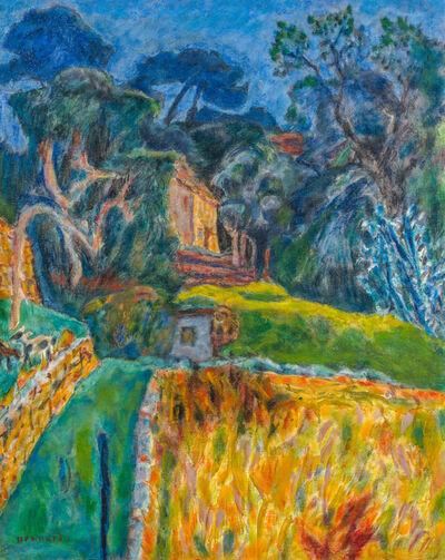 Pierre Bonnard, 'Paysage Méridional, l'enclos aux chèvres', 1944-1945