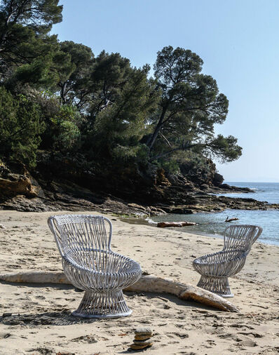 Franco Albini, 'Margherita lounge chairs, pair', 1951