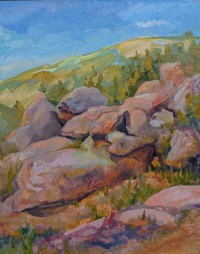 CHARIS J. CARMICHAEL BRAUN, 'Rocks Tumbling', 2018