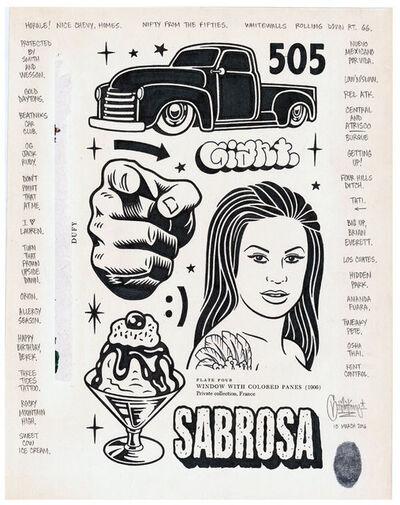 Mike Giant, 'Sabrosa', 2016
