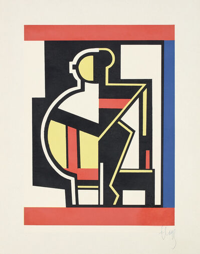 After Fernand Léger, 'Composition mécanique', 1953
