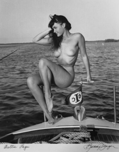 Bunny Yeager, 'Bettie Page', 1954
