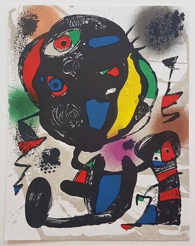 Joan Miró, 'Lithographie Originale V', 1981