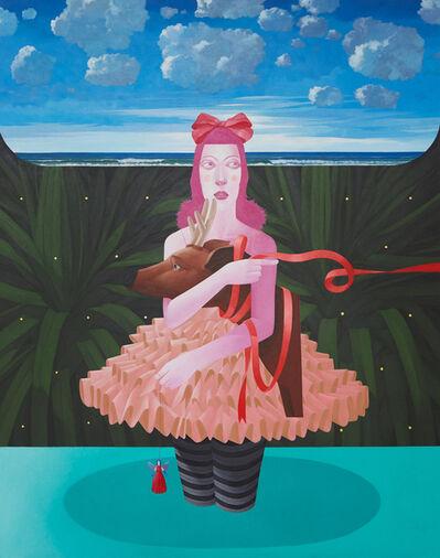Knakorn Kachacheewa, 'Ballet Girl With Deer', 2020