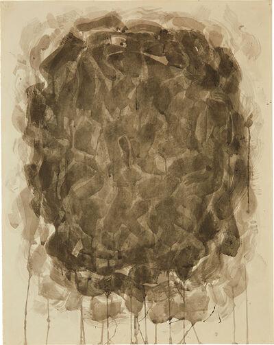 Sam Francis, 'Untitled (Circle Entre Noir et Blanc)', 1953-54