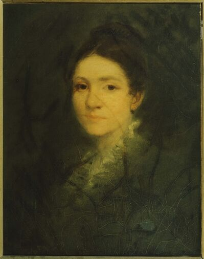 George Fuller, 'Portrait of Mrs. Aaron Fuller', 1869