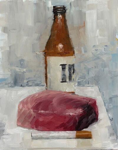 Tom Giesler, 'Health Study 9: beer tuna cigarette', 2020