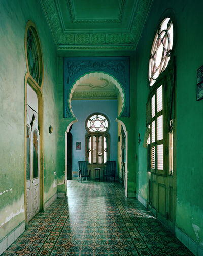 Michael Eastman, 'Moorish Blue Arch, Havana', 2010
