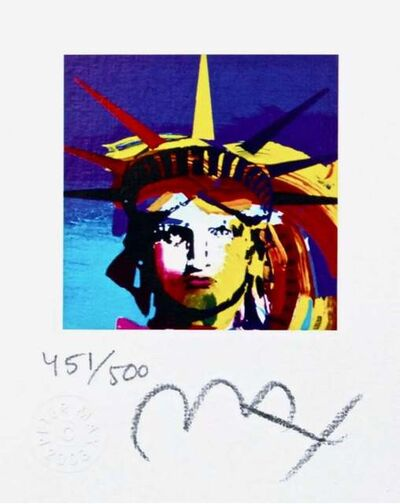 Peter Max, 'Liberty Head VII', 2003